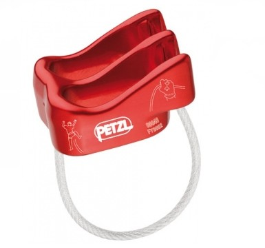 As seen in this image  The Petzl Verso is extremely compact (it's the smallest tube style device tested in this review). It's lightweight and well crafted.