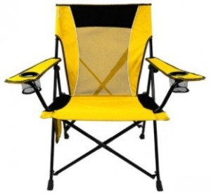 The Dual Lock Folding Chair from Kijaro