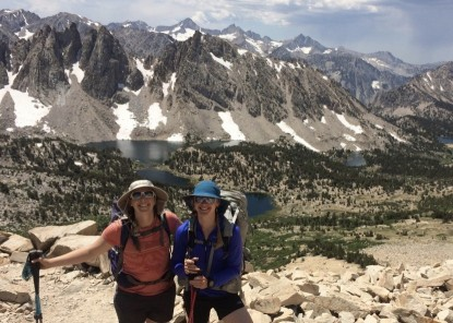 The Sunday Afternoons Adventure Hat and Ultra Adventure are both cape style hats that are a great choice for backpacking.
