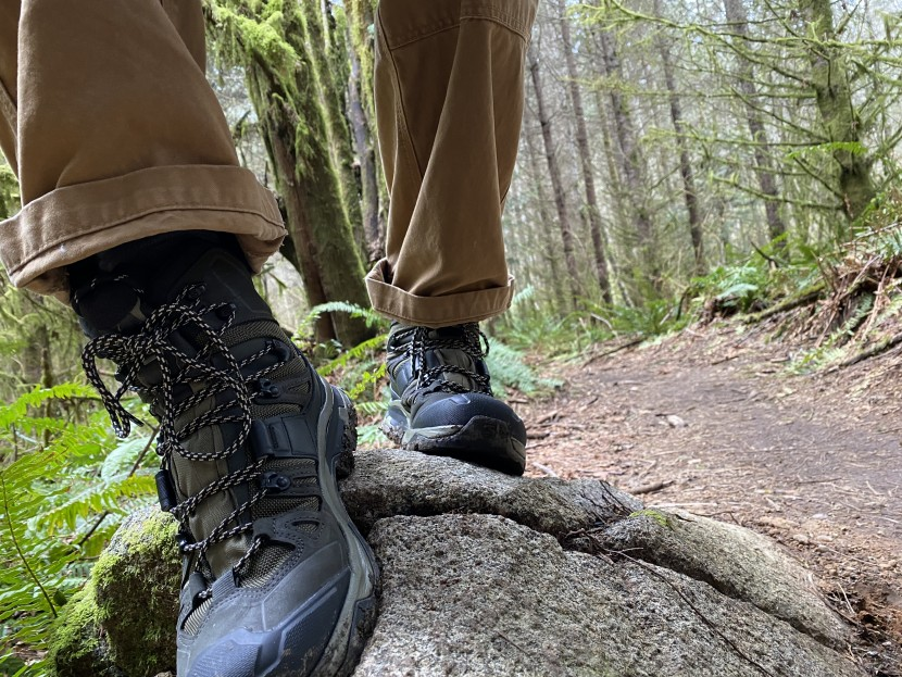 A good pair of hiking boots will give you the confidence to hike in al...